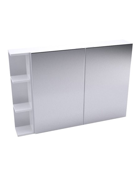 Fienza Pencil Edge Mirror Cabinet + Single Side Shelves