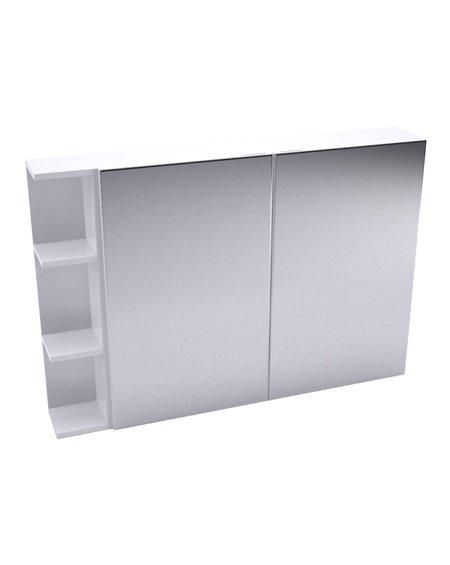 Fienza Pencil Edge Mirror Cabinet + Single Side Shelves