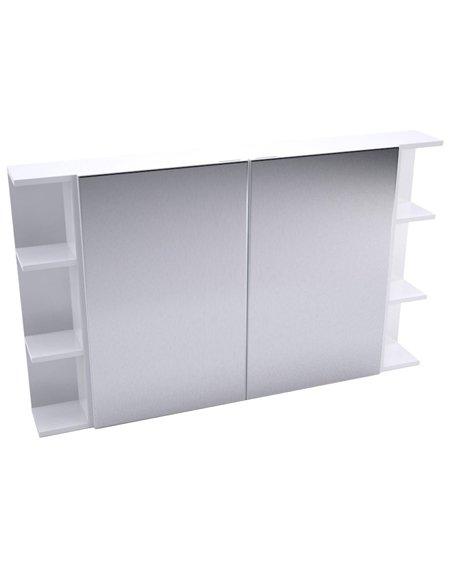 Fienza Pencil Edge Mirror Cabinet + Double Side Shelves