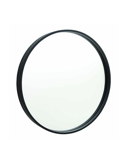 Thermogroup ablaze Contractor - 900mm Diameter Round Mirror with Black Frame